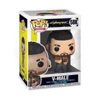 Funko POP Games: Cyberpunk 2077 - V-Male