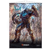 Magic: The Gathering Stained Glass Wall Scroll - Karn