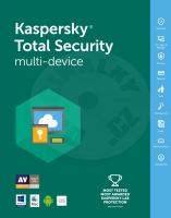 Kaspersky Total Security - 1 year licence for multi-device