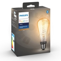 Philips Hue Bluetooth E27 Filament ST72 Edison Warm White