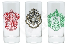 Sklenice Harry Potter set 3 ks
