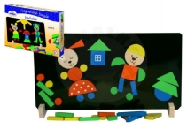 Detoa Magnetic puzzle Bears in a box 33x23x3,5cm