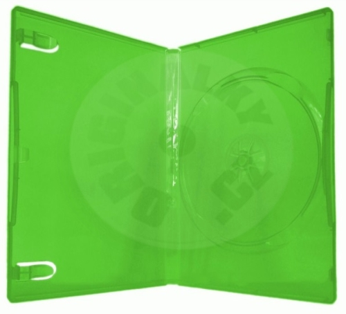 Cover for 1 DVD 14 mm Xbox green