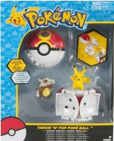 Thrown n Pop Pokéball - Dual Set - Pikachu + Cubone