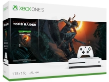 Microsoft Xbox One S 1 TB Shadow of the Tomb Raider Bundle