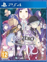 Re: ZERO - Starting Life in Another World: The Prophecy of the Throne (PS4)
