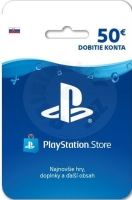 PlayStation Store Gift Card 50 EUR -  SVK
