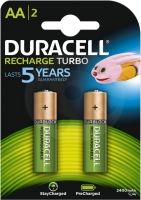 Duracell StayCharged AA 2400mAh, 2ks