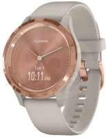 Garmin Vivomove 3S Sport Rose-gold with sand band