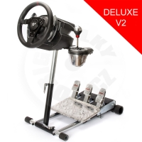 Wheel Stand Pro Deluxe V2, stojan na volant a pedály pre Thrustmaster T500RS