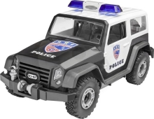REVELL Junior Kit - Offroad Police Vehicle 1:20
