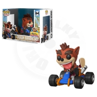 Funko POP Games Riders: Crash Team Racing - Crash Bandicoot