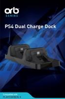 ORB Dual Charge Dock (PS4)
