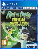 Rick and Morty Virtual Rick-Ality VR (PS4)