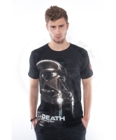 Good Loot - Star Wars: Rogue One - Death Trooper - čierné tričko velikost L