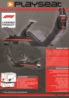 Playseat F1 Grand Prix + Gearshift Support (PC/PS2/PS3)