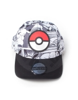 Pokémon - Comic AOP Pokéball Badge Adjustable cap