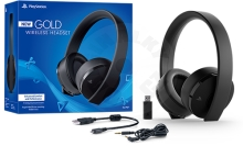 Sony Playstation Gold Wireless Stereo Headset (PS4/PC/PSV/Switch)