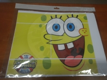 Vinyl cover (stickers) for console - Spongebob (PS3)