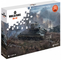 World of Tanks Puzzle - Číhajúcí tanky - 1000ks