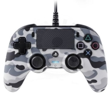 Nacon Wired Compact Controller - grey camo (PS4)