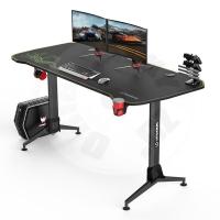 Ultradesk gaming table Grand - yellow-green