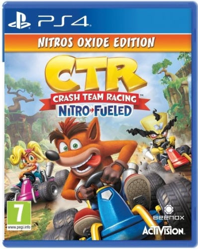 Crash Team Racing Nitro-Fueled Nitros Oxide (PS4)