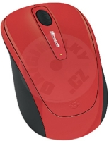Microsoft Wireless Mobile Mouse 3500 - červená