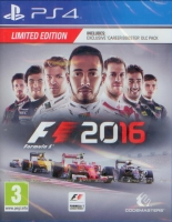 F1 Formula 1 2016 - Limited Edition (PS4)