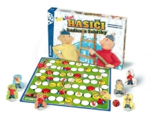 Bonaparte Firefighters hoses and ladders Pat and Mat board game in a box 34x23x4cm