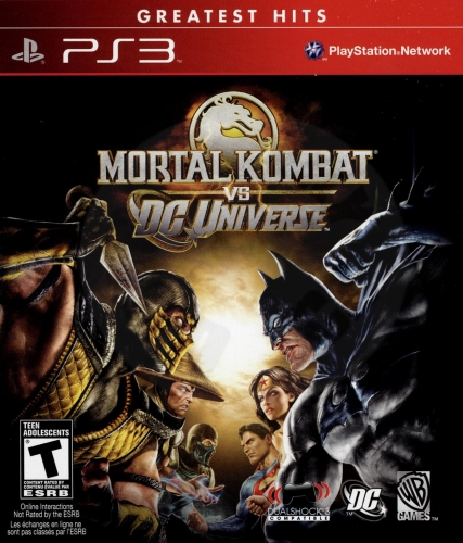 Mortal Kombat vs. DC Universe (PS3)