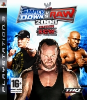 WWE SmackDown vs. Raw 2008 (PS3) použité