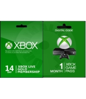 Xbox Live 14 day Gold membership + Xbox Game Pass 1 month (XONE)