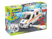 REVELL Junior Kit - Ambulance 1:20