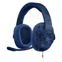 Logitech G433 7.1 Wired Surround Gaming Headset (PC) - Camouflage blue