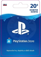 PlayStation Store Gift Card 20 EUR -  SVK