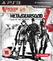Metal Gear Solid 4: Guns of The Patriots 25th Anniversary (PS3) použité
