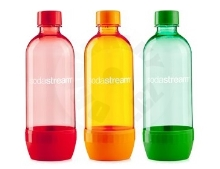 SodaStream Láhev - TriPack - Red/Orange/Green