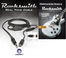 Rocksmith 2014 el. licence + Realtone kabel (PC)