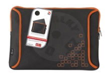 Trust Notebook Protection Sleeve Black/Orange 15,4""