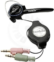 Rainbow Voip Headset - Black (PC)