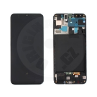 Samsung original LCD and touch layer for Galaxy A50 A505 - black