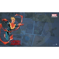 Marvel Champions: Captain Marvel Playmat