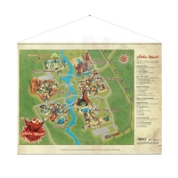 Fallout - Nuka World Map - WallScroll