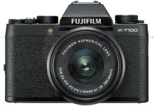 Fujifilm X-T100 + XC15-45 - 24,3MP – Black