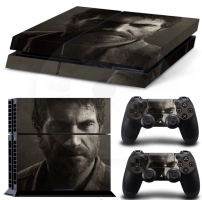 Vinyl cover (stickers) for console - The Last of Us - Joel (PS4)
