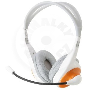 Rainbow Bass Vibration Headset - Orange (PC)