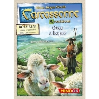 Carcassonne - Sheep and hills