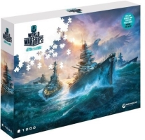 World of Warships Puzzle - German War Ships - 1000ks