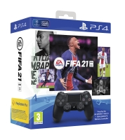 Sony DualShock 4 Black V2 - FIFA 21 CZ bundle (PS4)